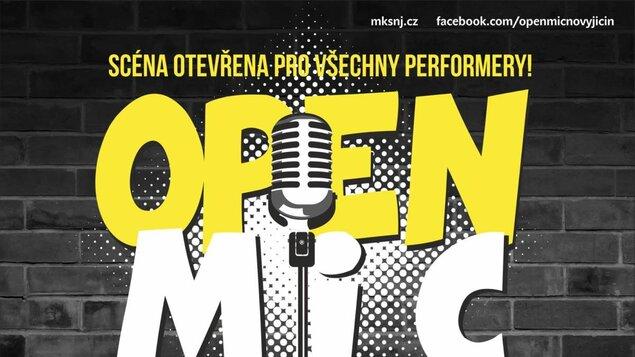 Open mic 10/21-zrušeno
