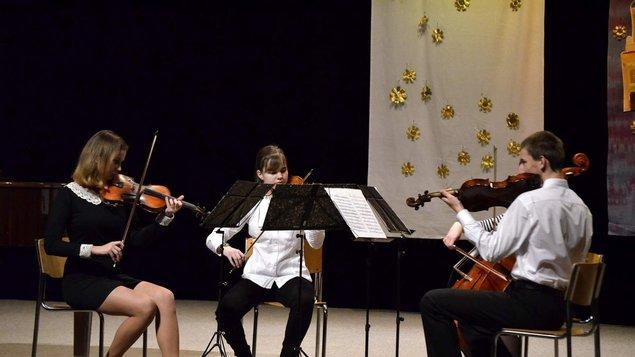 Sváteční koncert ZUŠ