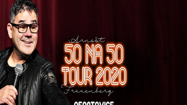 ARNOŠT FRAUENBERG - 50 NA 50 - TOUR 2020