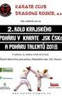 2. kolo krajského poháru v karate JSK ČSKe a poháru talentů