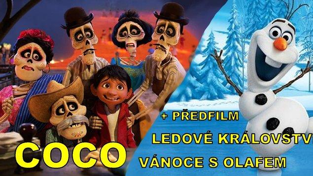 Coco + předfilm Ledové království: Vánoce s Olafem