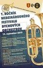 1. ročník medzinárodného festivalu dychových orchestrov