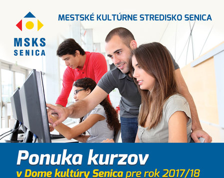 Ponuka kurzov v DK Senica