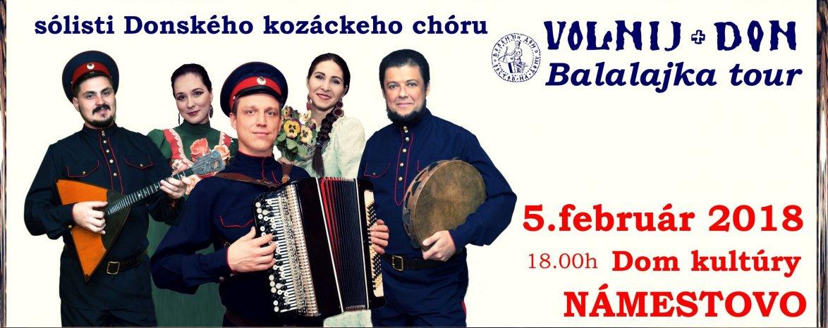 VOLNIJ DON – BALALAJKA TOUR 2018
