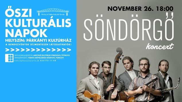 Jesenné dni kultúry - skupina Söndörgő, 26.11.2017