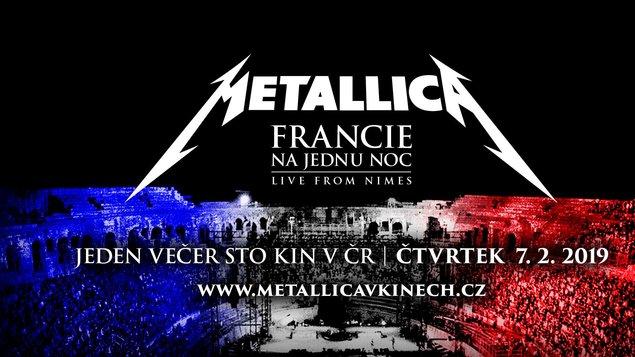 Metallica: Francie na jednu noc
