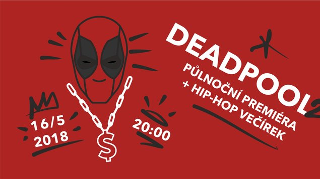 Deadpool hip-hop večírek