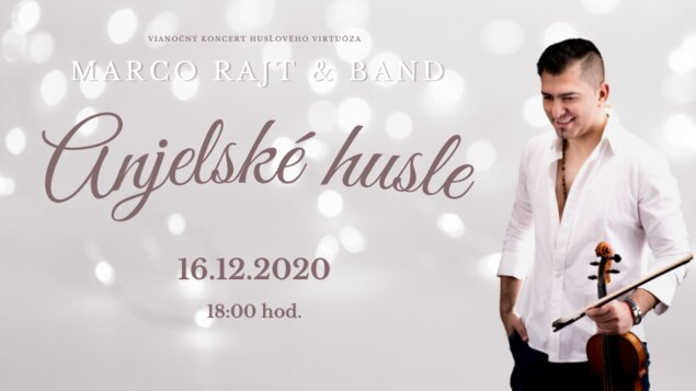 Vianočný koncert: Anjelské husle - ZRUŠENÉ