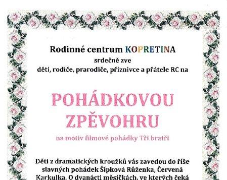 POHÁDKOVÁ ZPĚVOHRA