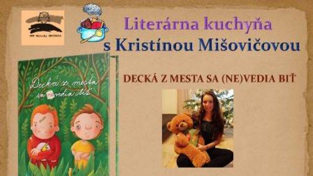 Literárna kuchyňa s Kristínou Mišovičovou