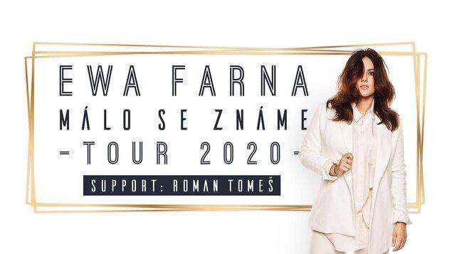 Ewa Farna ~ Málo se známe tour 2020