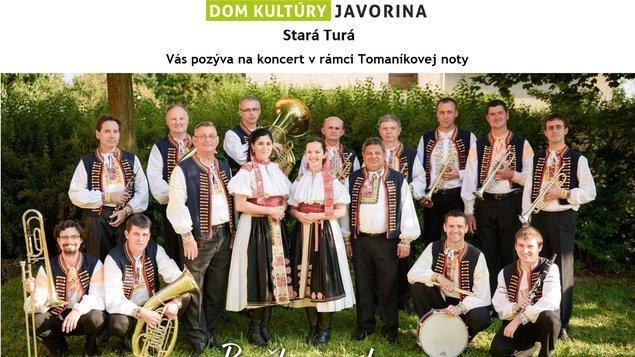 Tomaníkova nota - koncert dychovej hudby Bučkovanka