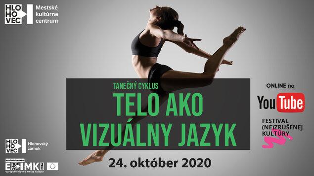 Telo ako vizuálny jazyk - Anna Kertészová - online stream z Hlohovského zámku