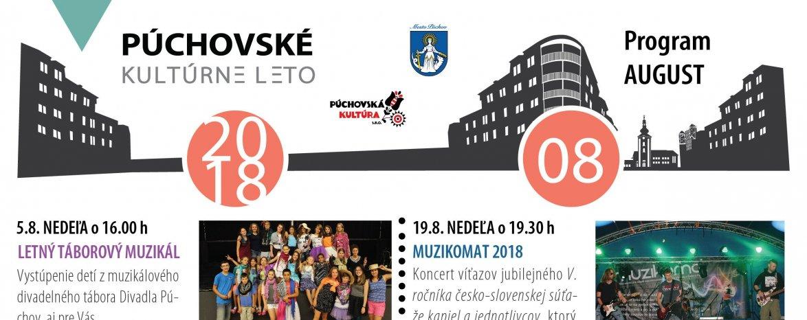 PÚCHOVSKÉ KULTÚRNE LETO 2018 - AUGUST