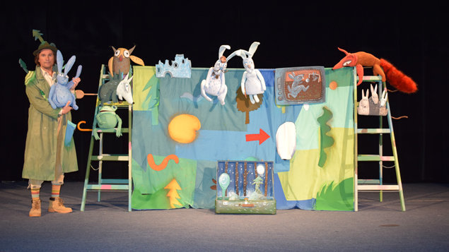 Divadlo Žihadlo: Zajko Lajko - organizované predstavenie