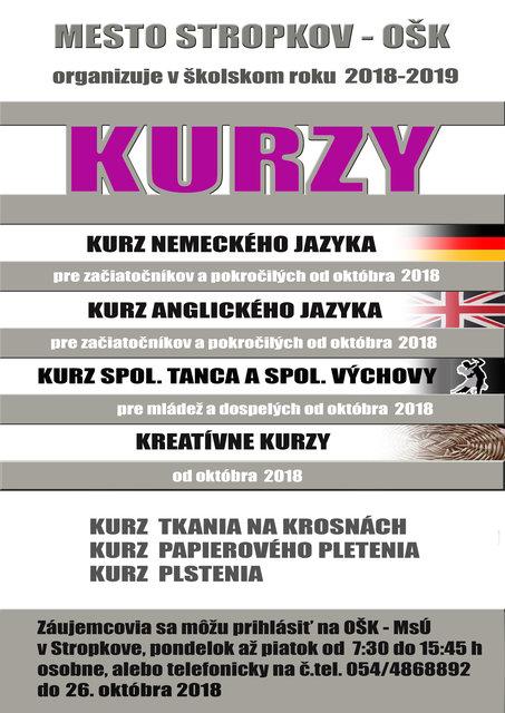 1c797dc38 Kurzy – program a vstupenky online   Kino a Kultúra Stropkov