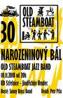30 LET NAROZENINOVÝ BÁL - Old Steamboat Jazz Band
