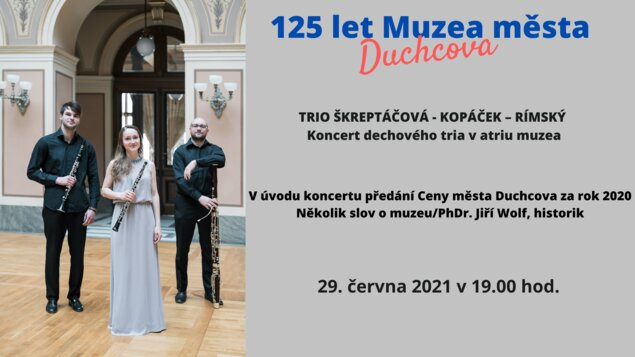 125 let Muzea města Duchcova