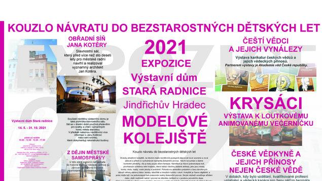 VÝSTAVNÍ DŮM STARÁ RADNICE - EXPOZICE 2021