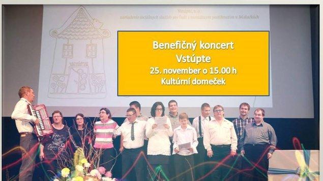 Benefičný koncert Vstúpte