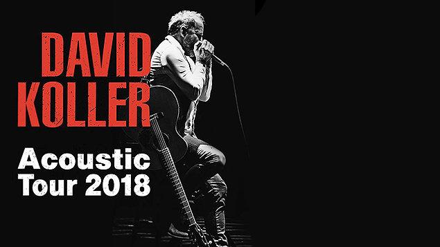 David Koller ~ Acoustic Tour 2018