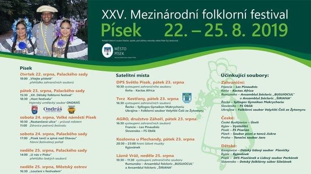 XXV. Mezinárodní folklorní festival