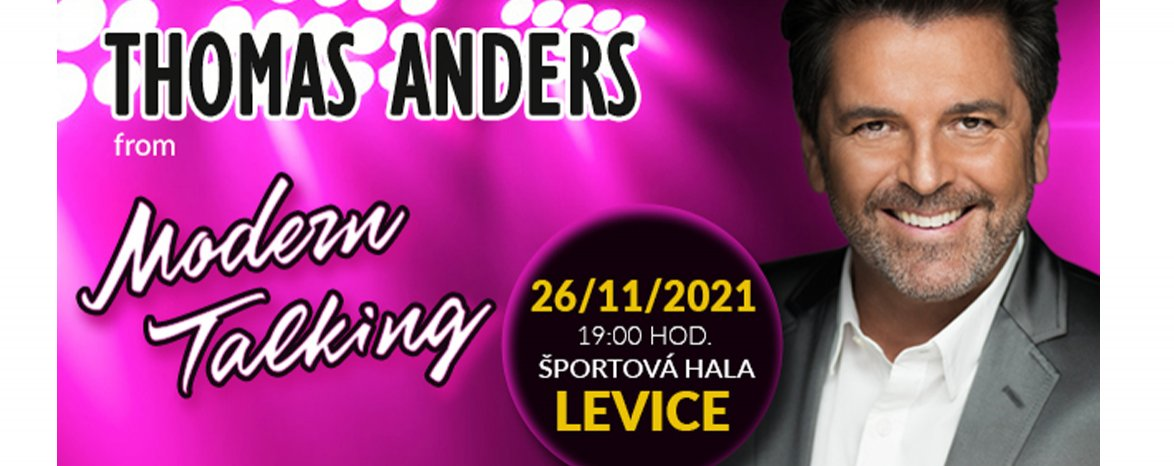 Thomas Anders z Modern Talking