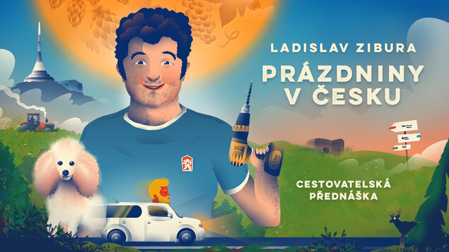 Ladislav Zibura – Prázdniny vČesku