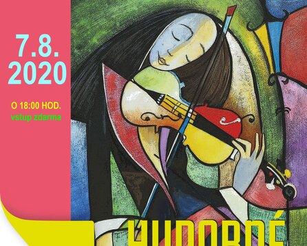 Hudobné piatky v Galante 7.8.2020.