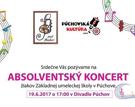 Absolventský koncert ZUŠ Púchov