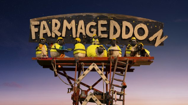 Ovečka Shaun vo filme: Farmageddon