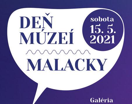 DEŇ MÚZEÍ 2021 MALACKY