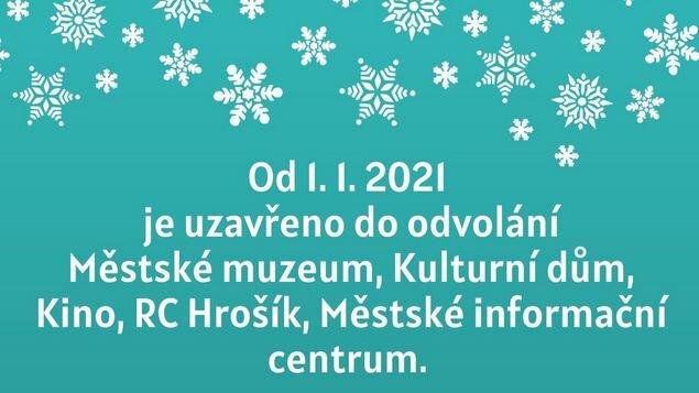 OD 1. 1. 2021 UZAVÍRÁME DO ODVOLÁNÍ