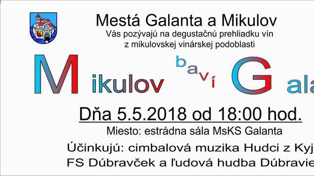 d5bddaa5104 Mikulov baví Galantu 2018 – program a vstupenky online