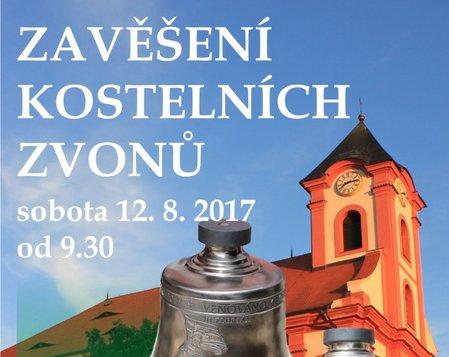 Zavěšení kostelních zvonů