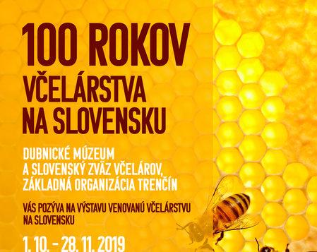 100 rokov včelárstva na Slovensku