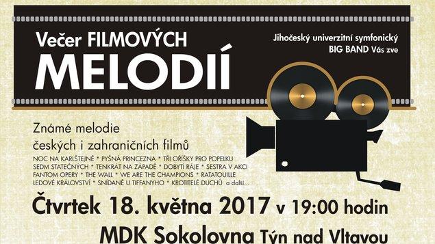 VEČER FILMOVÝCH MELODIÍ - koncert
