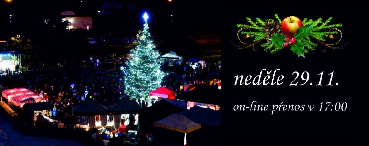 Rozsvícení vánočního stromu v Neratovicích