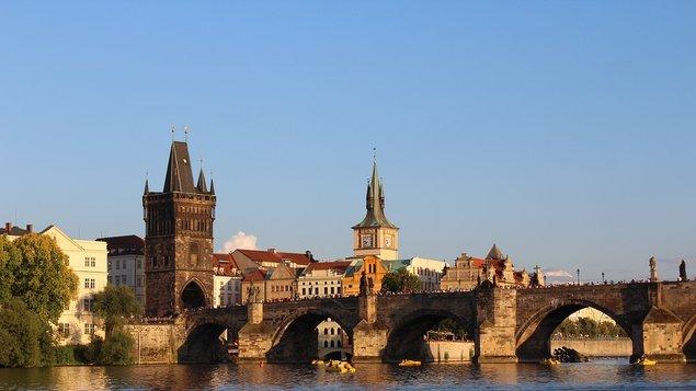 Karlův most a Karel IV.