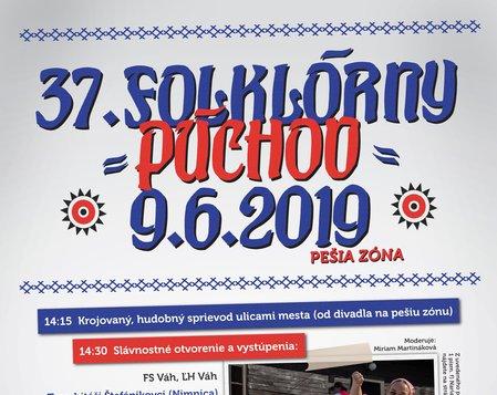 XXXVII. FOLKLÓRNY PÚCHOV