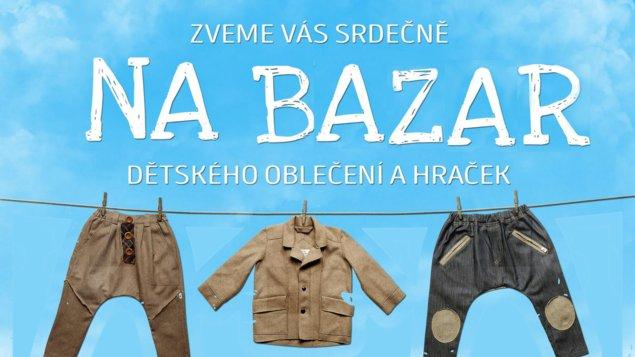 Bazar dětského oblečení a hraček