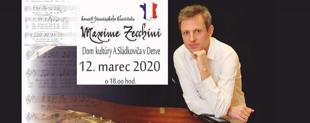Klavírny  koncert - Maxime Zecchini (Francúzsko)