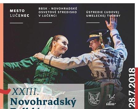 XXIII. Medzinárodný Novohradský Folklórny Festival - I. Festivalový večer
