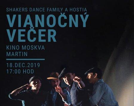 Vianočný večer Shakers Dance Family a hostia