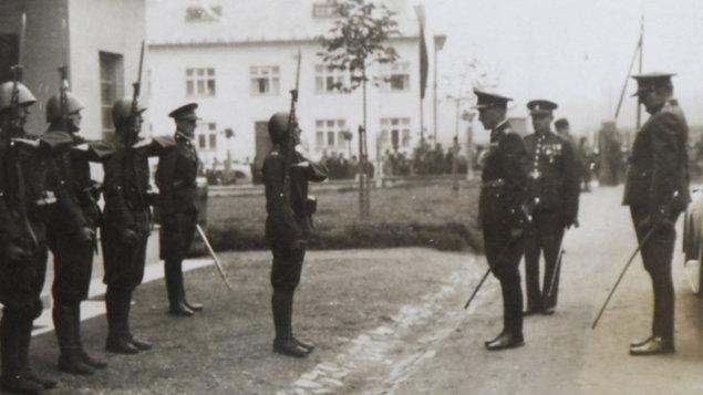 Hraničářský pluk 4 - symbol obrany proti nacismu