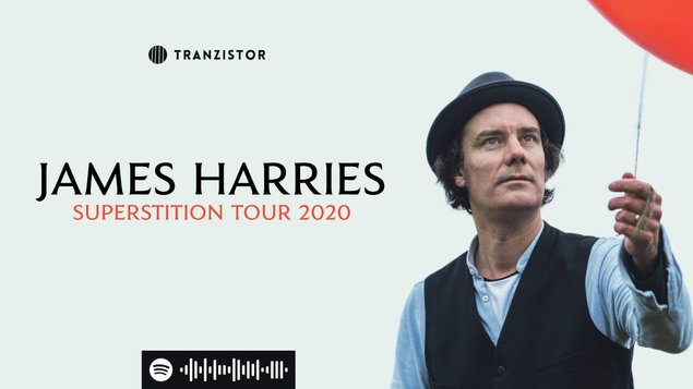 JAMES HARRIES – Superstition Tour