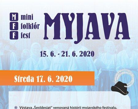 MFF MYJAVA 2020 Streda