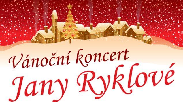 Vánoční koncert Jany Ryklové
