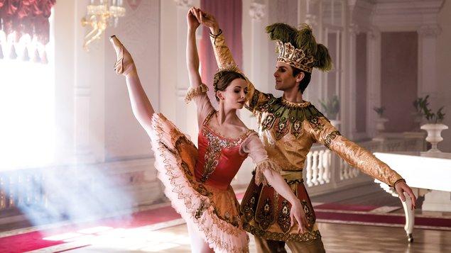 Spící krasavice (záznam z Bolšoj baletu, Moskva) + vystoupení ZUŠ