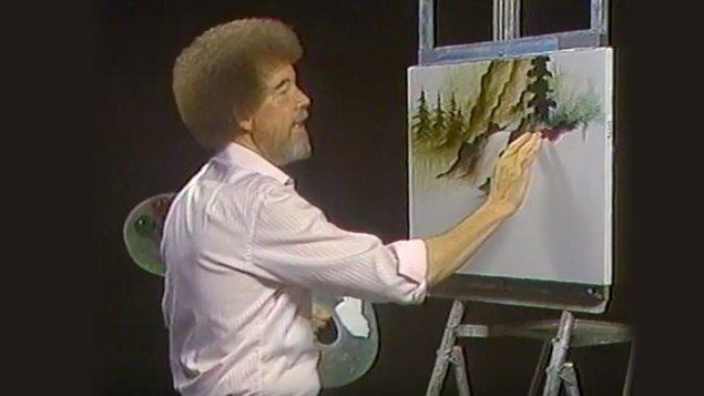 Kurz olejomalby metodou Bob Ross